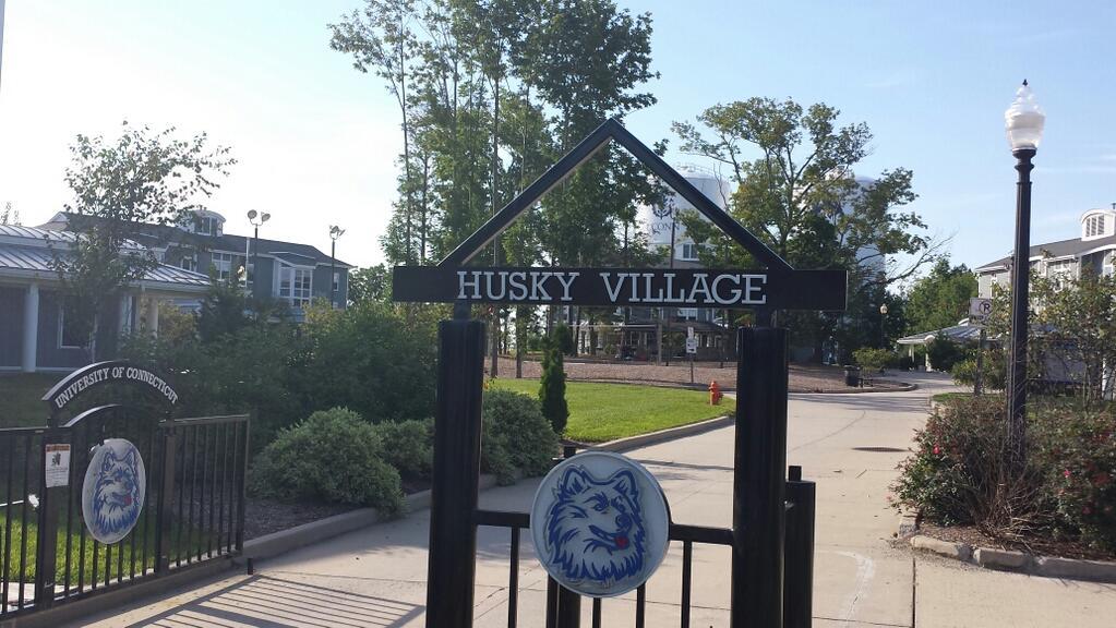 Alpha Delts Secure House in Husky Village